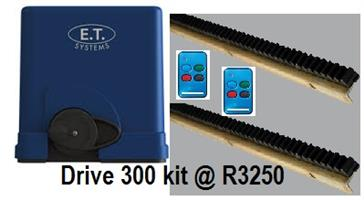 ET Drive 300 Sliding Gate Motor Kit @ R3250