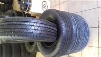 255/70/16 x4 brand new tyres R4700.