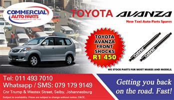Front Shocks For Toyota Avanza For Sale.