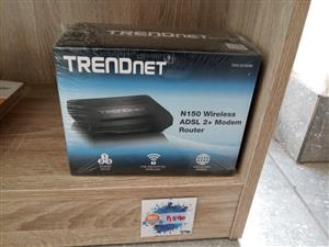Best Seller: TRENDnet N150 WIRELESS N ADSL 2/2+ Modem Router