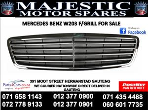 Mercedes benz W203 bumper grill for sale