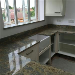 Granite counter-tops for reception counter-tops and kitchen tops at lower prices