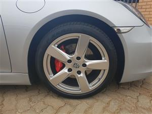 "Porsche Cayman 19"" rims and tyres - Set of 4"