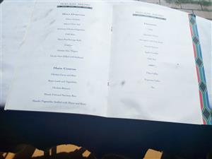 Memorabilia from NELSON MANDELA'S INAUGURATION IN 1994