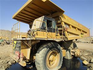 Caterpillar 777D Rigid Dump Truck - ON AUCTION