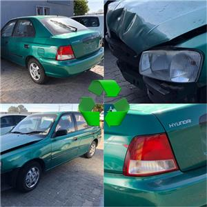 Hyundai Accent 2001 stripping for spares