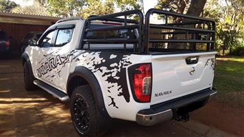 Navara, Cattle rail and Canvas Canopy sold separately or together