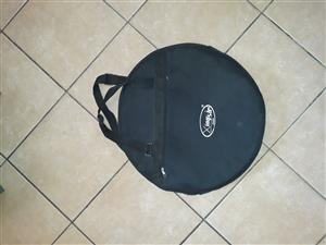 Drummer's cymbal bag for sale.