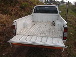 Bakkie for hire with the driver/tipper