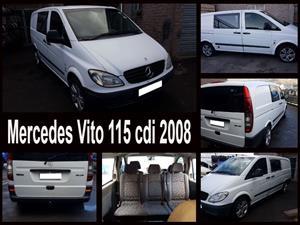 Mercedes Vito 115 cdi 2008 spares for sale