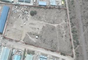 Botswana: Industrial property for factory/warehouse next to railway, near freeway