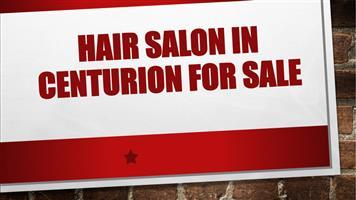 HAIR SALON IN CENTURION FOR SALE
