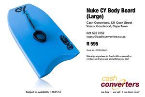 Nuke CY Body Board (Large)