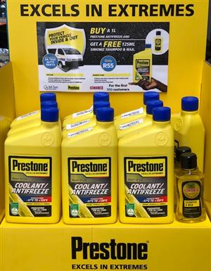 Prestone Coolant / Antifreeze SPECIAL OFFER - Exclusive to SA Taxi Auto Parts