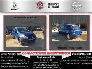 Renault Clio 3 Stripping For Used Spares