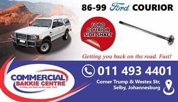 ford courier side shaft