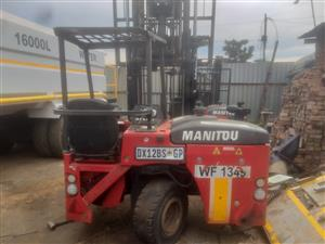 Manitou/Moffett truck mounted forklifts