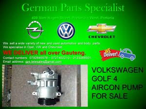VOLKSWAGEN GOLF 4 AIRCON PUMP FOR SALE