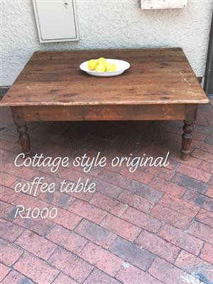 Cottage style original coffee table