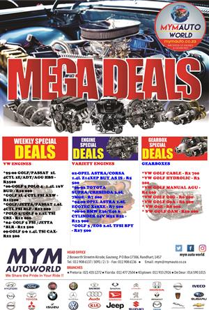 MYM AUTOWORLD WEEKLY SPECIALS NOW AVAILABLE IN STORE GRETA SAVINGS!!!