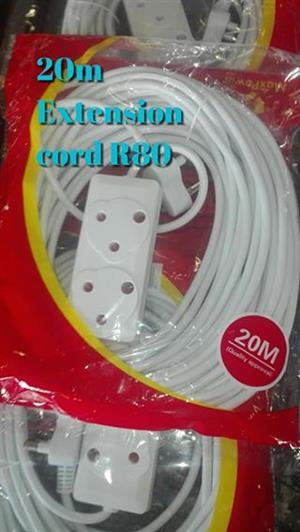 20m extension cord for sale