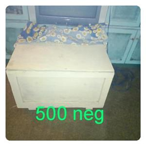Vintage white wooden coffee table for sale