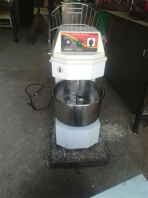 20L industrial spiral dough mixer