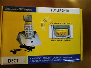 Butler 2410 Digital Cordless Telephone, comes with box