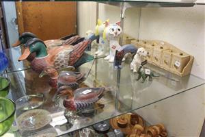 Cat,dog and ducks ornaments