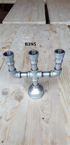 Heavy Duty Candle Holder for  3 Candles