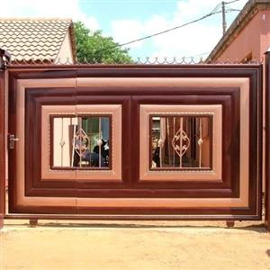 We do all steel work  contact me or whats app on 072 048 9574