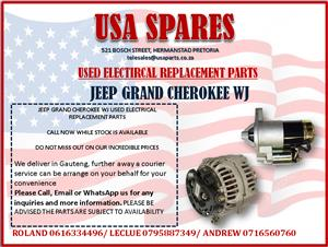 JEEP GRAND CHEROKEE WJ USED ELECTRICAL REPLACEMENT PARTS