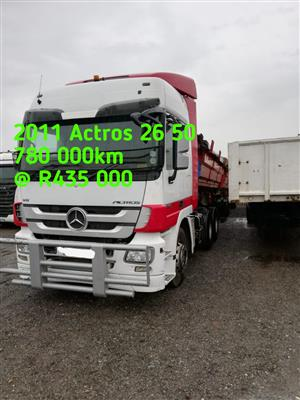 2011 Actros 26 50