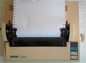 EPSON LX-800 Dot matrix Printer