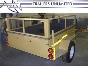 TRAILERS UNLIMITED OFF ROAD UTILITY TRAILERS.