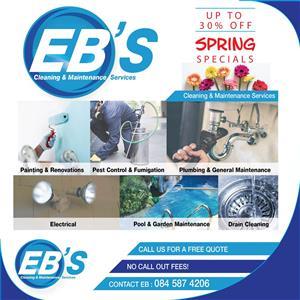 EBS PEST CONTROL DURBAN ANTS FLEAS ROACHES