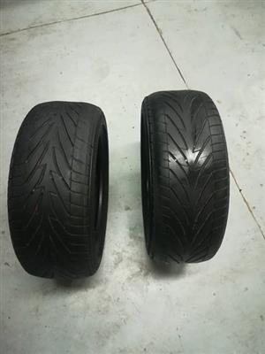 Two 195 50 R15 tyres for sale