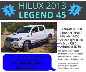 Toyota Hilux replacement parts for sale