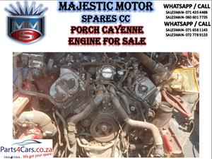 Porsche Cayenne engine for sale