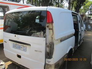 MERCEDES VITO 115 CDI STRIPPING FOR SPARES