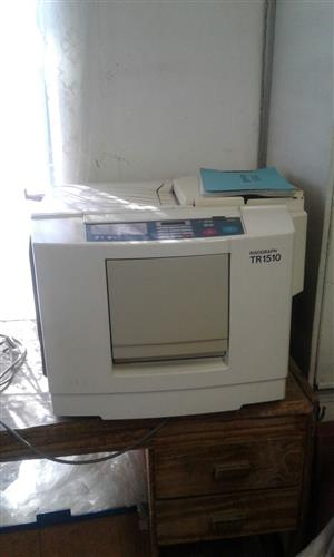 Risograph SR1510 printer for sale