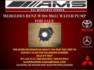 MERCEDES BENZ W204 M651 WATER PUMP FOR SALE