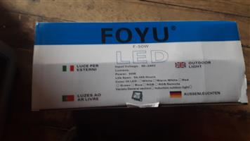 For sale 8 Foyu 50w Outdoor Led Lights for 2000