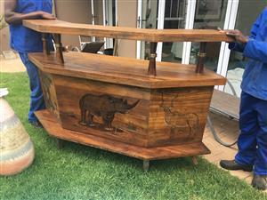 Big 5 Wooden Bar