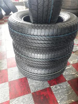 245/65/17 Toyo A28 tyres