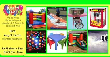 Childrens Party For under R500 in the week !!