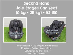 Second Hand Joie Stages Car seat  (0 kg - 25 kg)
