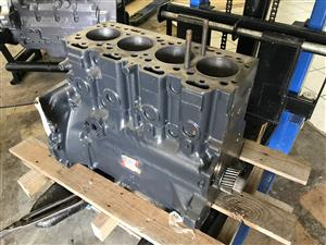 Perkins 248 Engine Block and Crankshaft