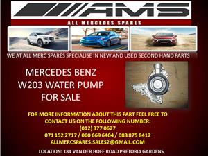 MERCEDES BENZ W203 WATER PUMP FOR SALE