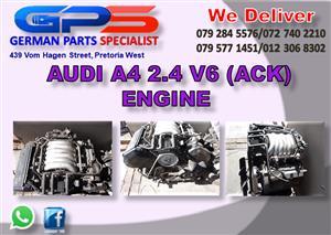 Audi A4 2.4 V6 (ACK) Engine for Sale
